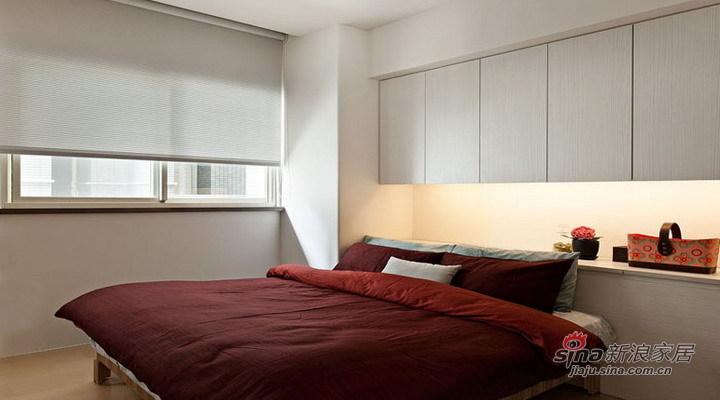 简约 三居 卧室图片来自用户2557010253在海富漫香林120平温馨装修现代简约别致风64的分享