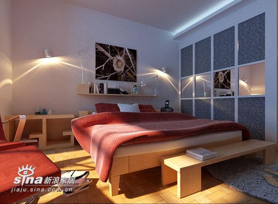 简约 三居 卧室图片来自用户2738093703在太原市警苑三室40的分享