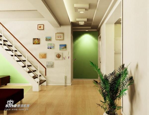 简约 复式 玄关图片来自用户2738845145在北京含晖苑小区61的分享