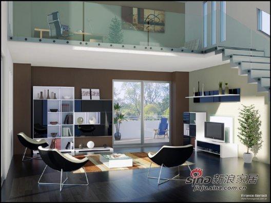 混搭 一居 客厅图片来自用户1907691673在空间色块拼接改造视觉效果41的分享