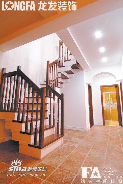 欧式 复式 楼梯图片来自用户2772856065在休闲与奢华的演绎54的分享