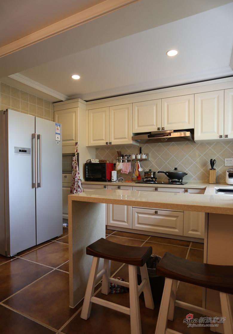 混搭 复式 厨房图片来自装修微日记在【高清】178平大气混搭时尚复式空间64的分享