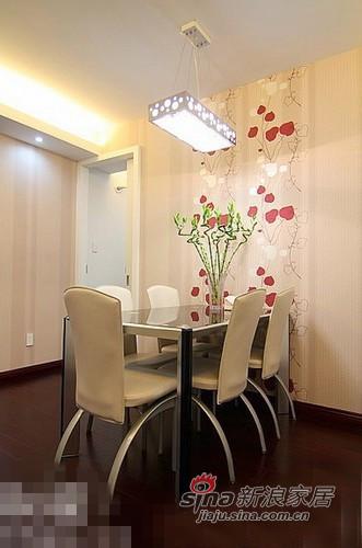 简约 二居 餐厅图片来自用户2557979841在清新范儿8万搞定90平两居室83的分享