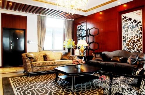 中式 别墅 客厅图片来自用户1907659705在十梓街独栋别墅70的分享