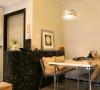 餐厅+工作区,吃饭工作两不误, BHS DT-26B白色烤漆餐桌- 黑白根大理石