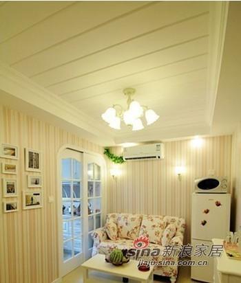 54平现代简约小户型客厅装修收纳秘籍