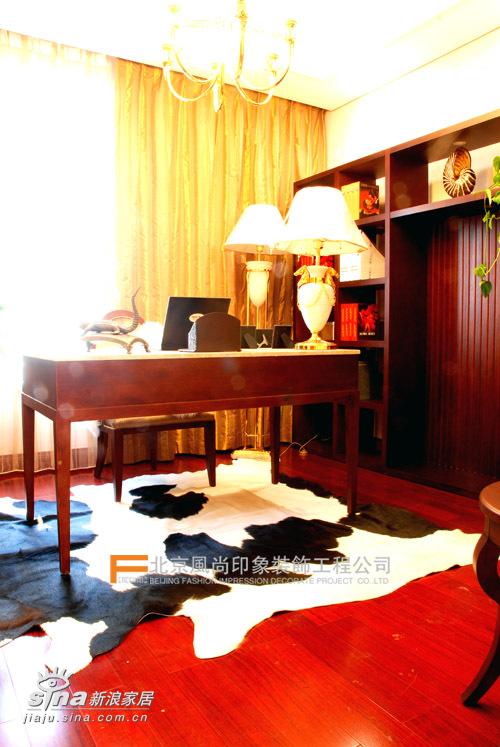 欧式 三居 书房图片来自用户2746948411在城市官邸76的分享