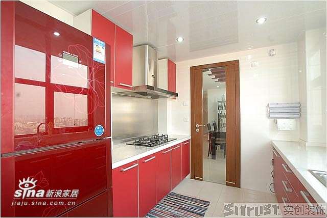 简约 四居 厨房图片来自用户2558728947在实创装饰远洋山水27的分享