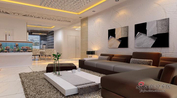 简约 二居 客厅图片来自用户2738813661在5.8万打造明光翡翠湾112平现代简约两居室55的分享