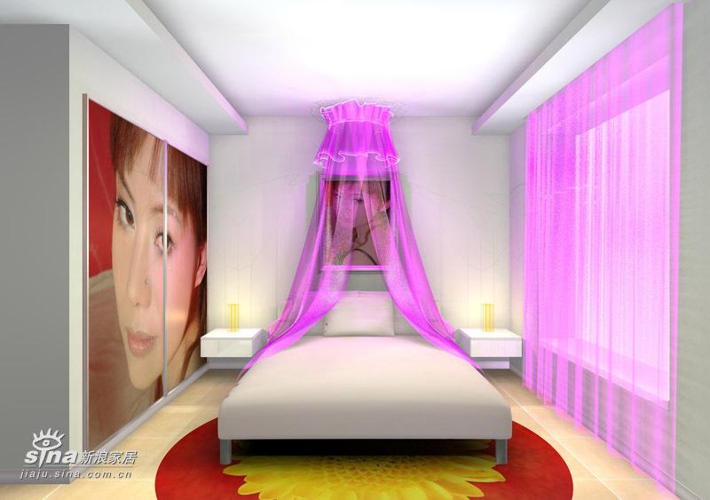 简约 二居 卧室图片来自用户2737786973在金鼎*世纪城91的分享