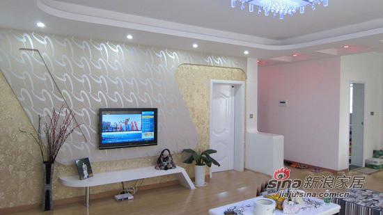 简约 二居 客厅图片来自用户2739153147在98平粉色婚房 6万温馨的家92的分享