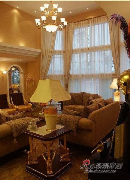 简约 别墅 客厅图片来自用户2557010253在390平欧式别墅仅花19万元34的分享