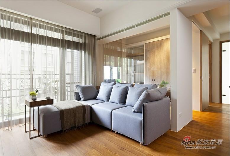 简约 二居 客厅图片来自用户2738813661在5万3改造花家地85平简约实用2居室35的分享