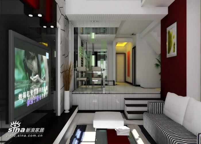 其他 别墅 客厅图片来自用户2557963305在实创装饰金地格林小镇户型设计方案10的分享