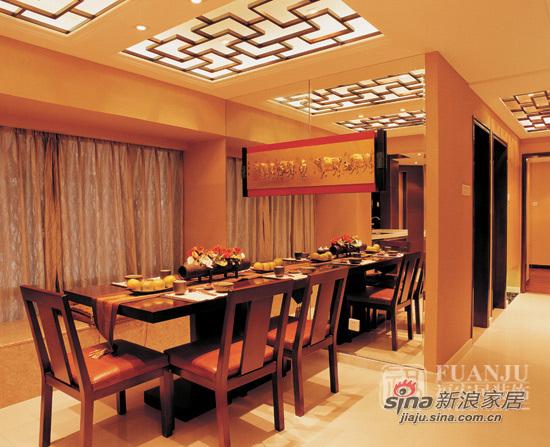中式 二居 餐厅图片来自用户1907658205在富丽堂皇两居中式风格87的分享