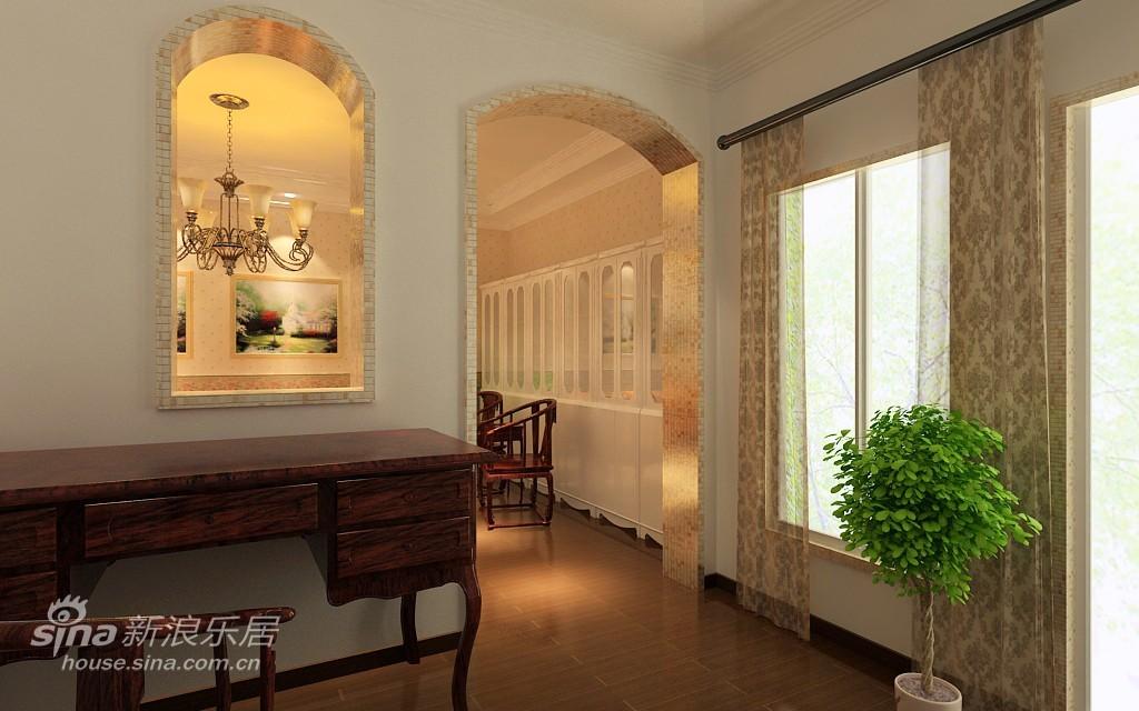 欧式 别墅 书房图片来自用户2746869241在春天气息的欧式风情22的分享