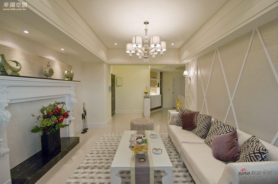 新古典 四居 客厅图片来自幸福空间在124平时尚艺术新古典风范96的分享