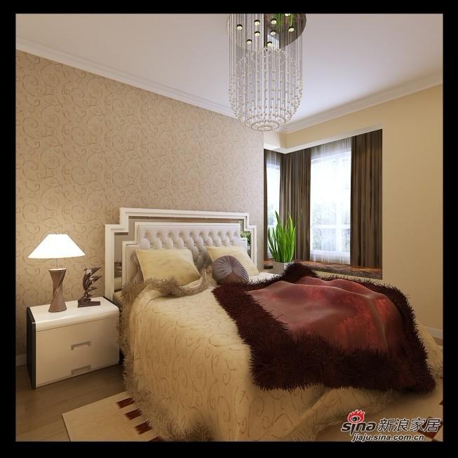 简约 三居 卧室图片来自用户2738829145在5.7万装88平新时尚简约小3居38的分享