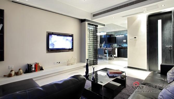 简约 三居 客厅图片来自用户2737782783在实景8万装110平优雅简约3居55的分享
