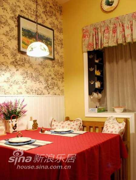 田园 二居 餐厅图片来自用户2737791853在莫奈乡村Styie精美居室21的分享