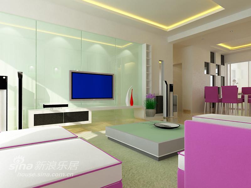 简约 三居 客厅图片来自用户2559456651在现代简约29的分享