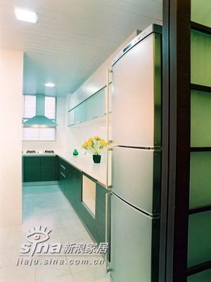 简约 一居 厨房图片来自用户2737786973在实创装饰装修案例98的分享