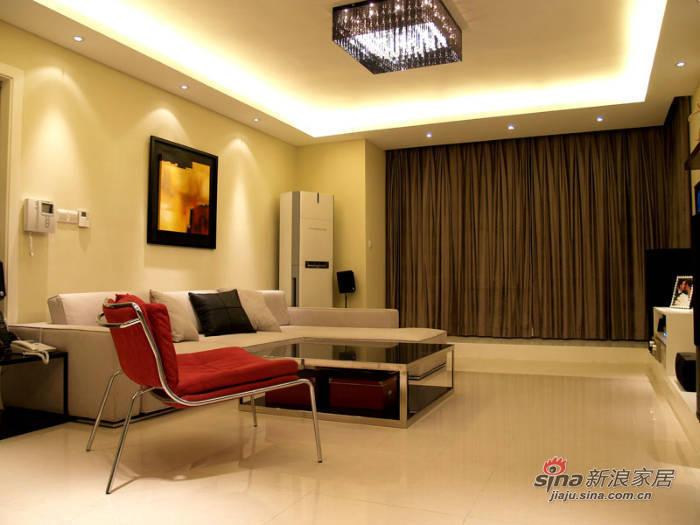 简约 二居 客厅图片来自用户2737782783在白领90平现代简约潮流新居20的分享