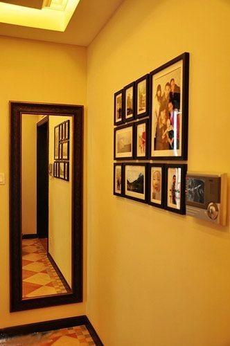 不错的相片墙哦,家里还是需要相片墙的