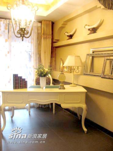 欧式 别墅 书房图片来自用户2557013183在西花厅乡村34的分享