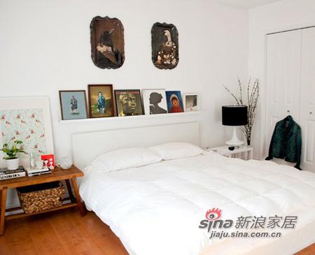 混搭 三居 卧室图片来自用户1907691673在加拿大侨胞一家三口的彩色萌家72的分享