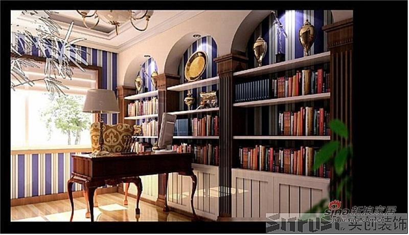 欧式 四居 书房图片来自用户2745758987在我的专辑176618的分享