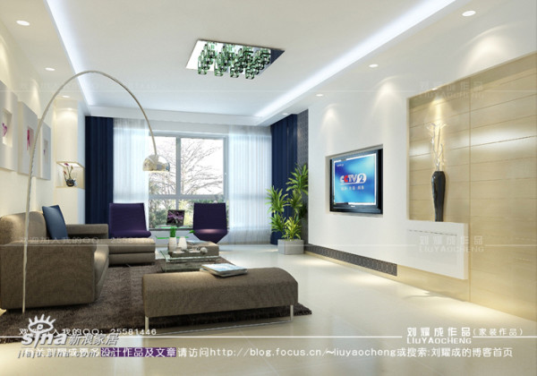 简约 二居 客厅图片来自用户2739153147在明亮简约的家居设计87的分享