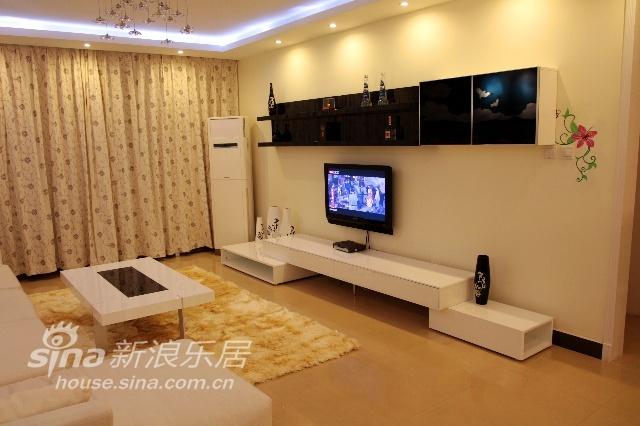 简约 二居 客厅图片来自用户2739153147在局部改造74的分享