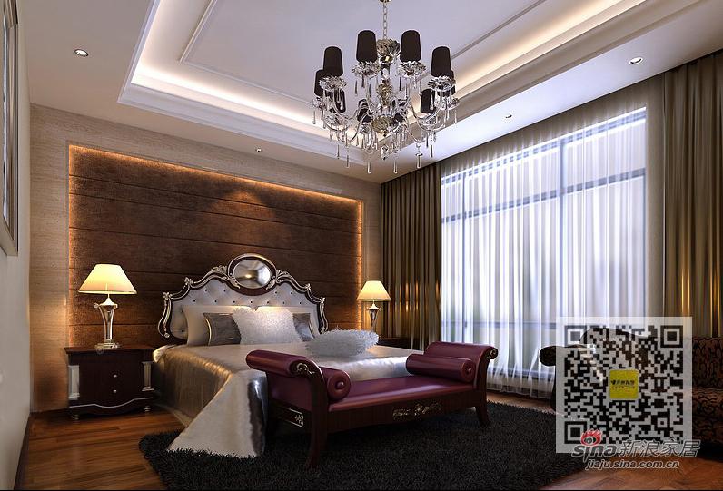 欧式 四居 卧室图片来自用户2772873991在兴盛园简欧风格四居室59的分享