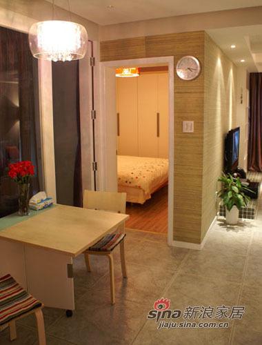 简约 一居 餐厅图片来自用户2745807237在65平的一室一厅50的分享