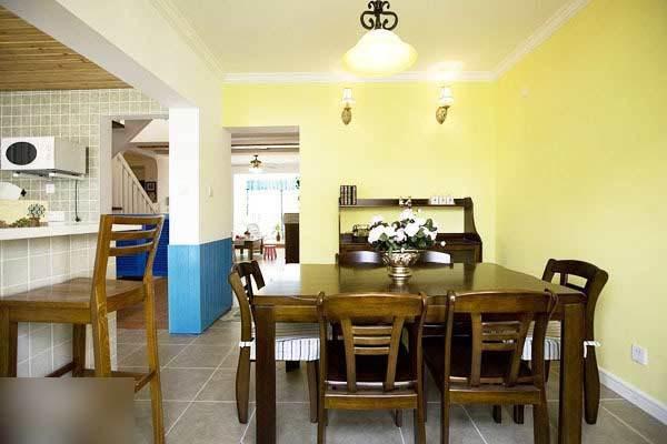 地中海 复式 餐厅图片来自用户2757320995在我的专辑249933的分享