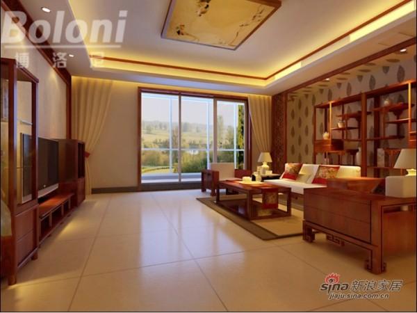 中式风格客厅3