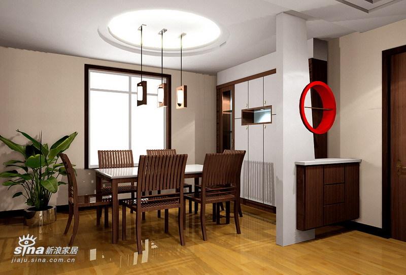 简约 三居 餐厅图片来自用户2739378857在奥林春天户型设计94的分享