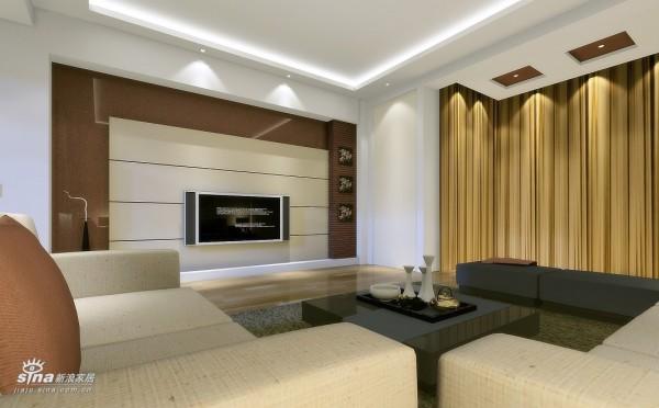 简约 二居 客厅图片来自用户2559456651在北岸布鲁斯现代简约设计10的分享