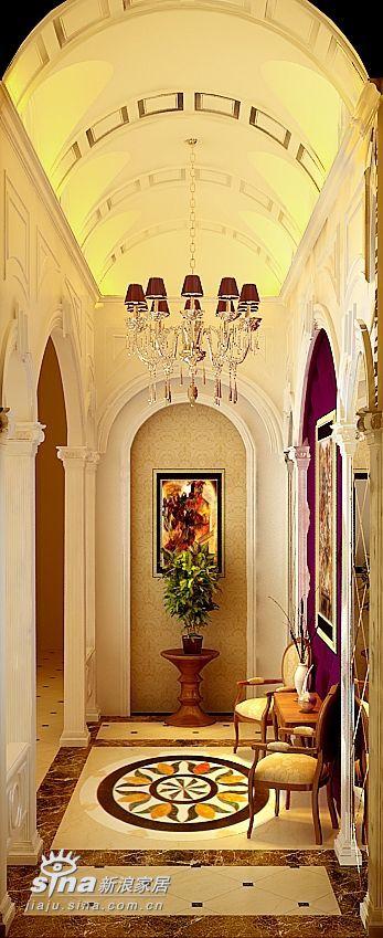 欧式 别墅 玄关图片来自用户2746869241在欧式实景别墅68的分享