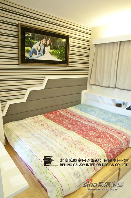 简约 一居 卧室图片来自用户2558728947在50平米--狭长空间大转型12的分享