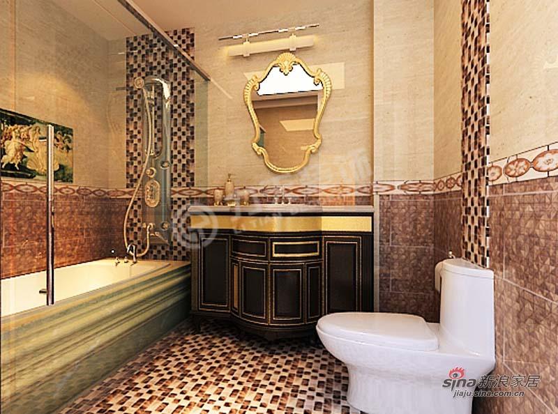 欧式 三居 卫生间图片来自阳光力天装饰在金城嘉园-三室一厅两卫一厨-欧式风格64的分享