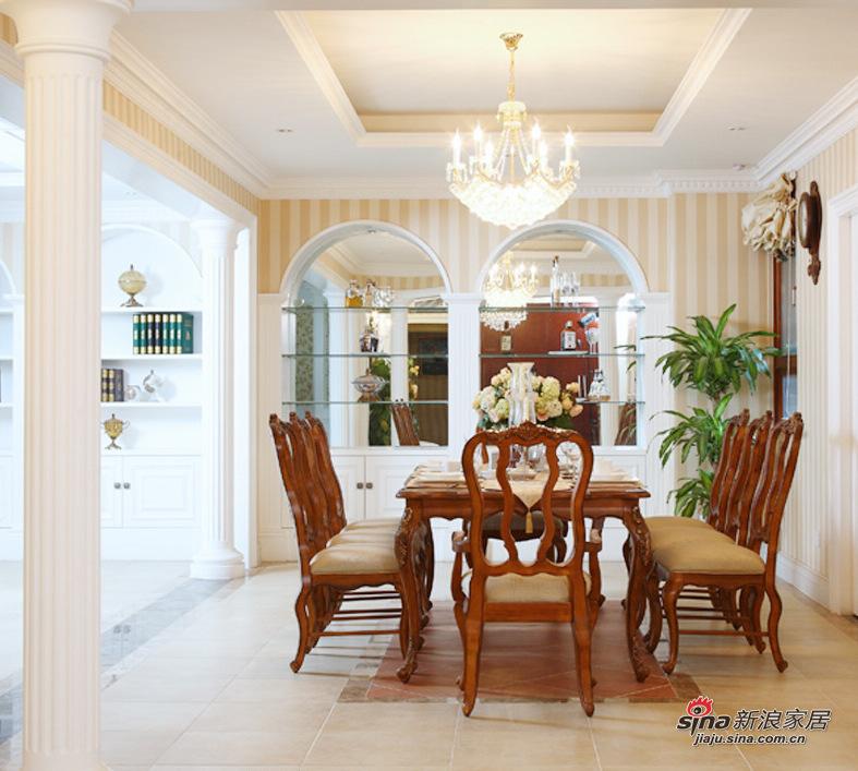 简约 三居 餐厅图片来自用户2559456651在8.5万打造100平简约3居婚房48的分享