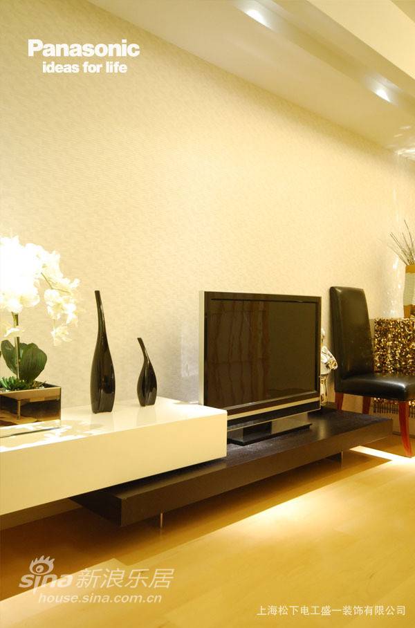 电视背景墙使用墙纸材质