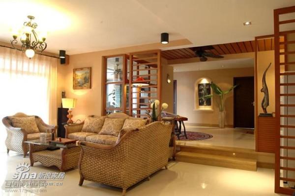 其他 三居 客厅图片来自用户2557963305在东南亚风格样板房69的分享