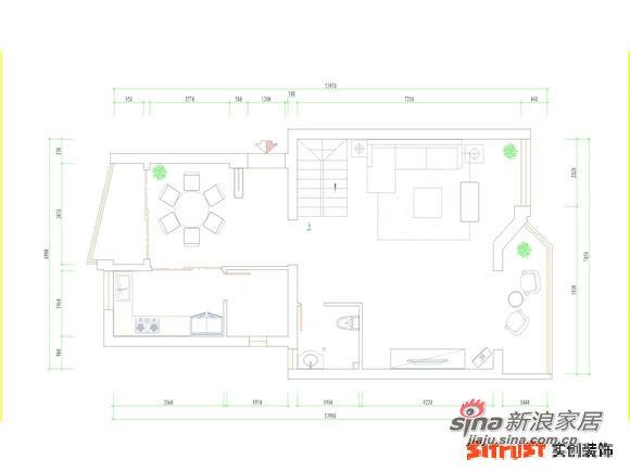欧式 三居 客厅图片来自用户2757317061在毛坯呼叫转移欧式范儿 保利家园C1户型82的分享
