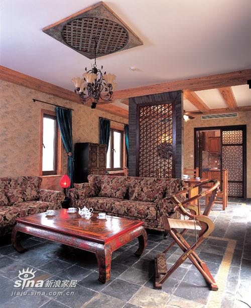 中式 别墅 客厅图片来自用户2757926655在简约中的异域之魅30的分享