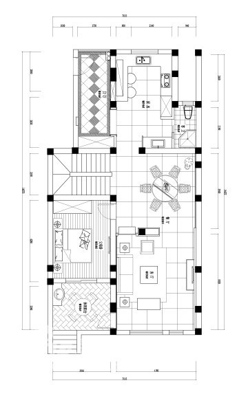 尊园1楼设计图