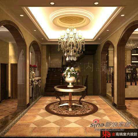 欧式 别墅 餐厅图片来自用户2772873991在200平低调奢华欧式风62的分享