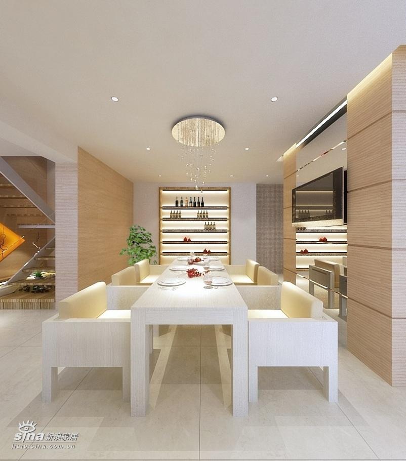 简约 别墅 餐厅图片来自用户2737759857在360平达观别墅极简风格36的分享